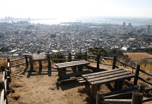 五鬼城展望公園は、ケーブル下駅から10分ほどで到着。