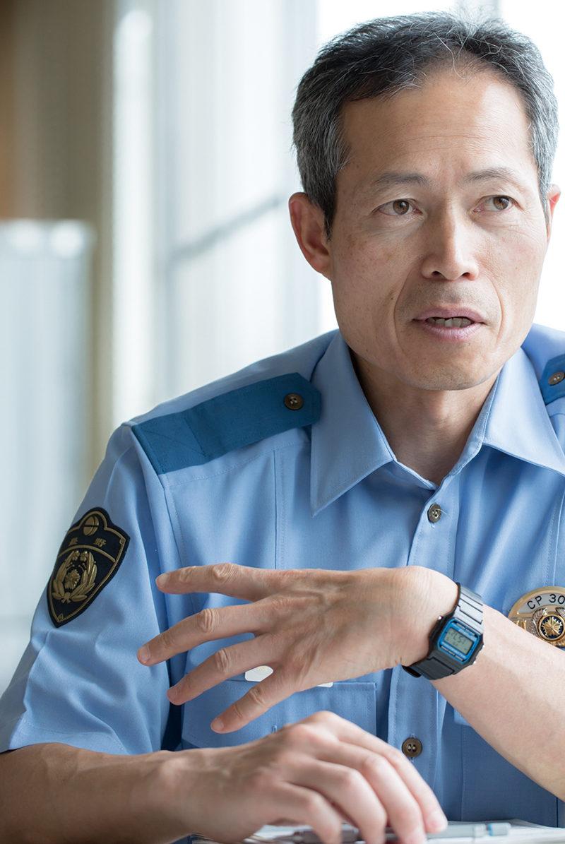 長野県警察山岳遭難救助隊隊長 宮﨑茂男さん