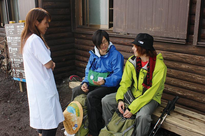 国際山岳医 大城和恵さん