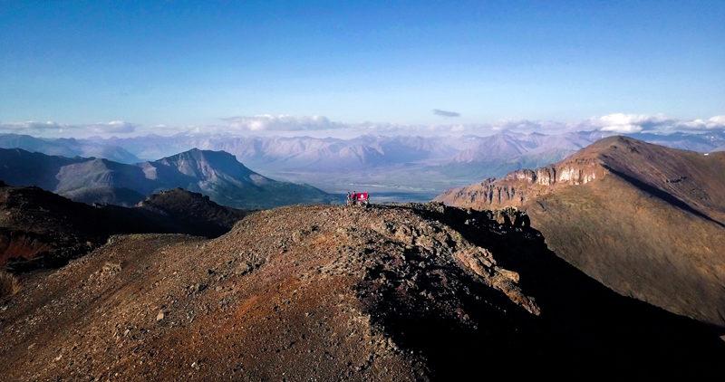 早稲田大学探検部 井上一星さん 2017年カムチャツカ遠征隊にて初登頂した「ワセダ山」