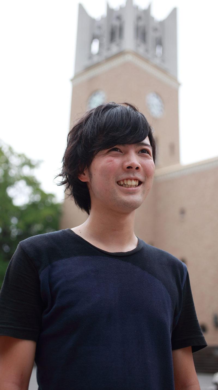 早稲田大学探検部 井上一星さん