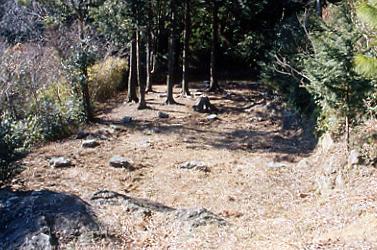 湖西連峰 平安時代の廃寺跡