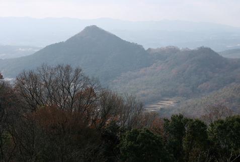 花山院から見た有馬富士