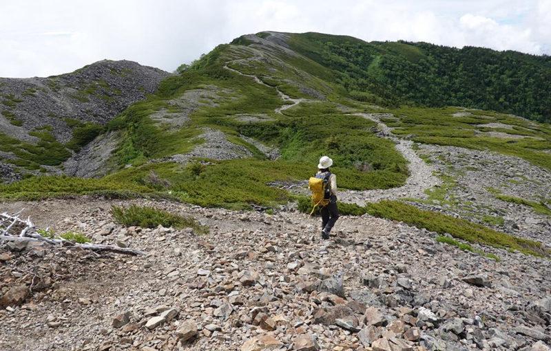 蝶ヶ岳 大展望の稜線歩き