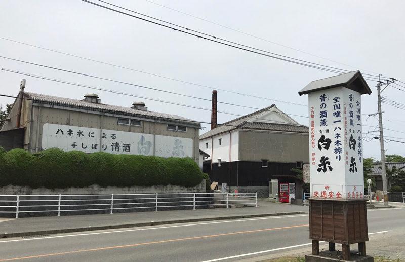 井原山 お土産「白糸酒造」