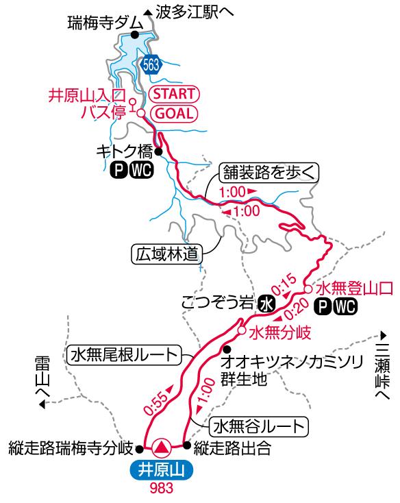 井原山マップ