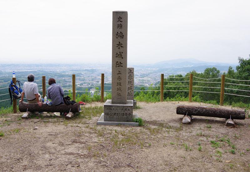 金剛山 山頂からの展望がすばらしい