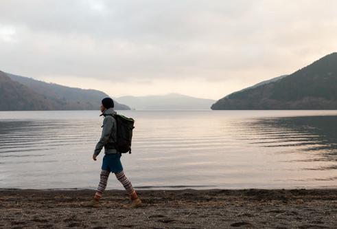 三国山 湖畔からキャンプ場へ抜ければ桃源台はすぐ
