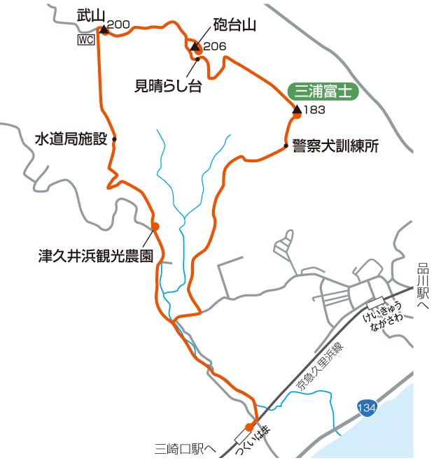 三浦富士マップ