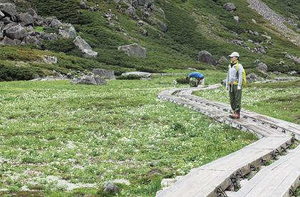 乗鞍岳 自然景観「畳平」