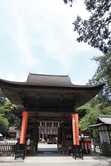 近江富士 御上神社