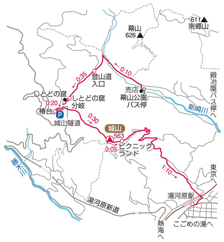 城山マップ