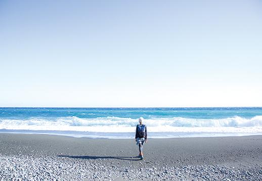 曽我丘陵 林道を歩き、国府津駅方面に出れば太平洋へとぬけることができる