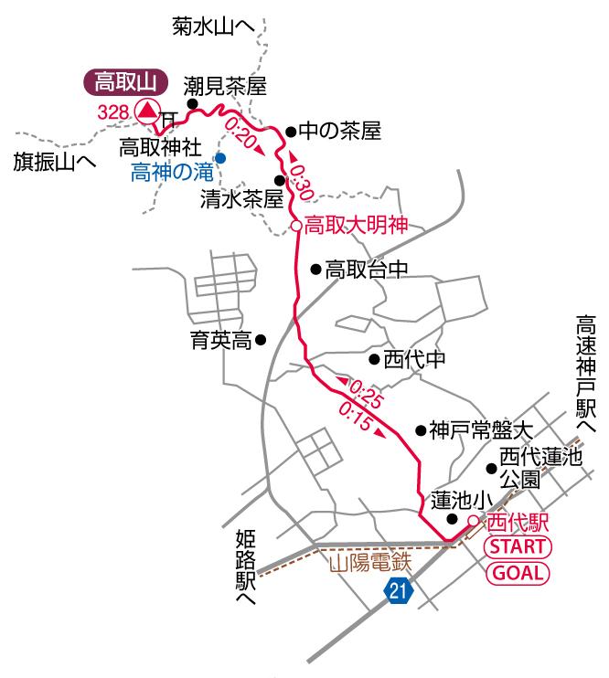 高取山マップ