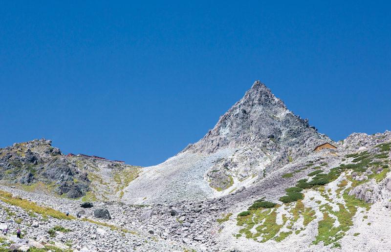 槍ヶ岳 とんがり山といえば、ここ槍ヶ岳。いつかの目標にしてみたい