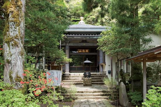 湯河原富士 山の中にひっそりと建つ東光寺