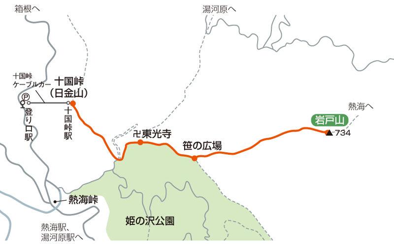 湯河原富士マップ