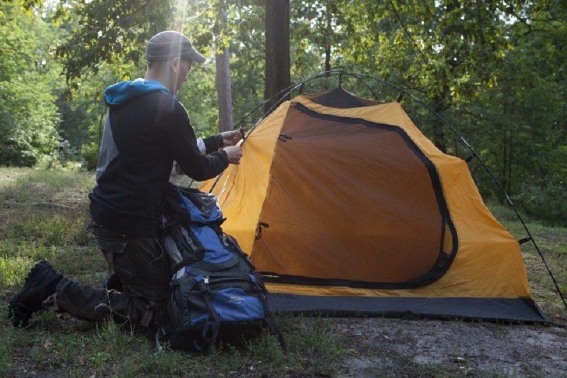 テント泊の準備