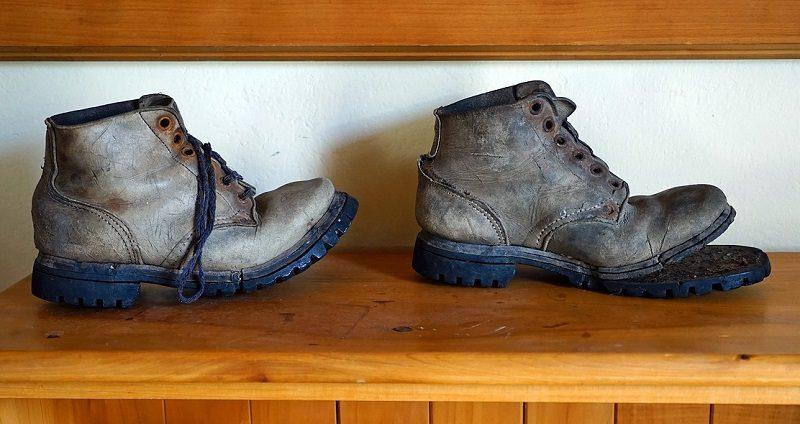 登山靴のソール修理について