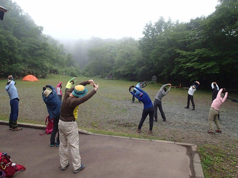 登山トレーニング