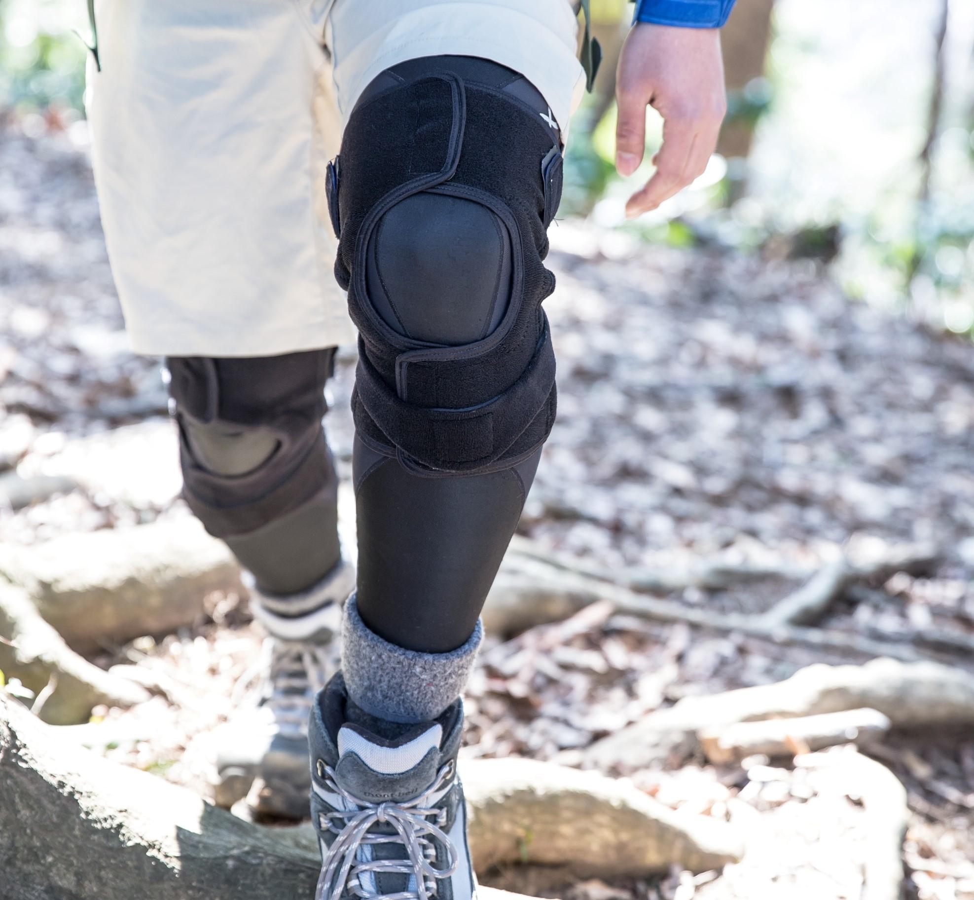 登山トレーニングで膝痛防止