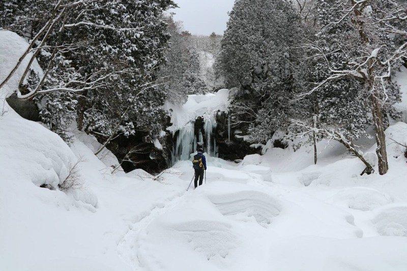 二ノ滝の氷瀑
