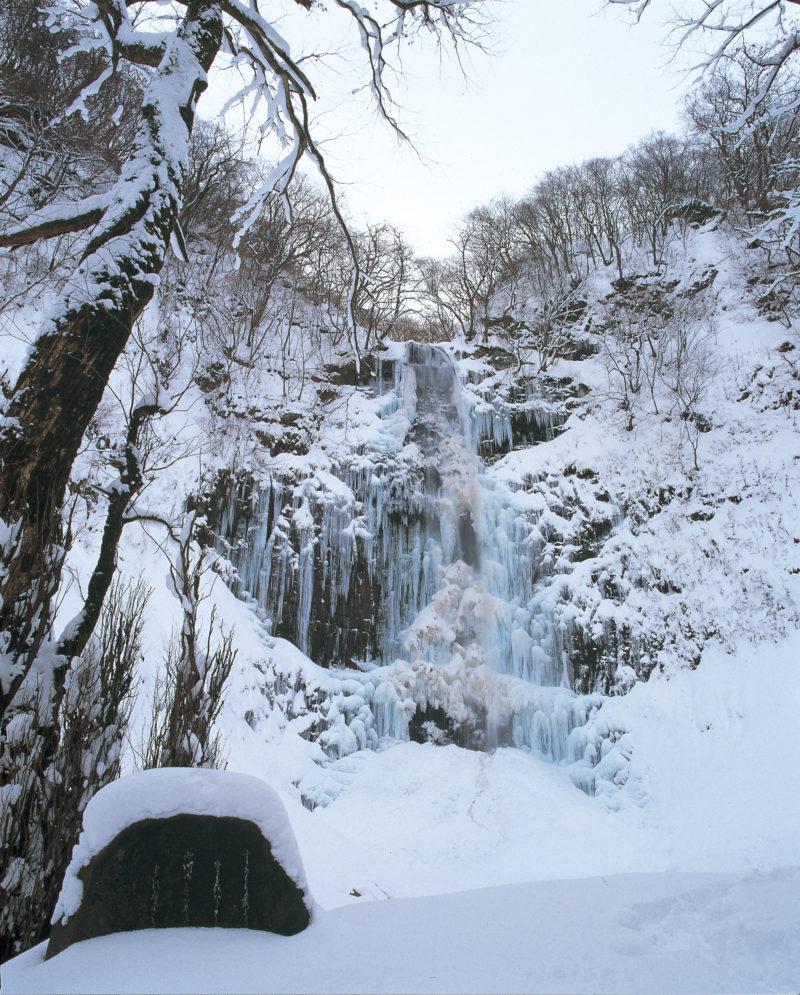 おすすめスポット 玉簾の滝の氷瀑