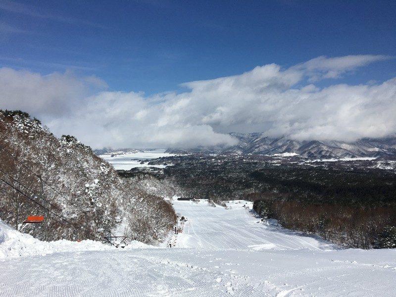 裏磐梯スキー場のリフト