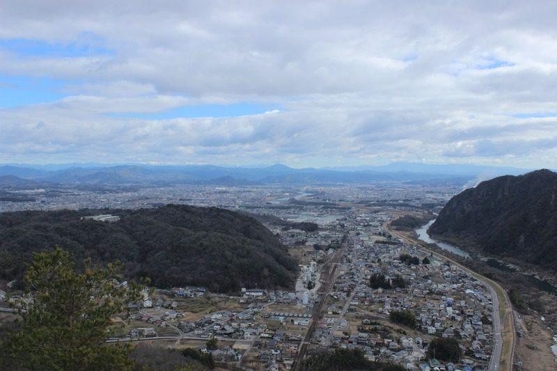 各務原アルプス 城山展望台からの眺め