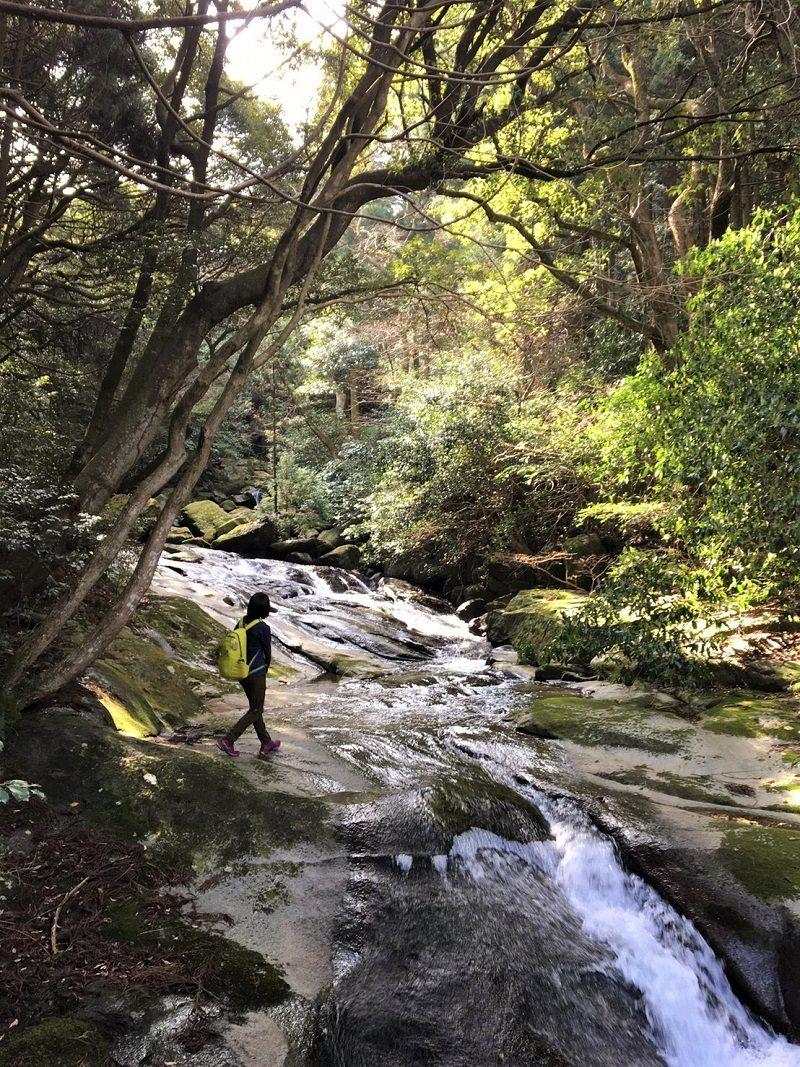 二条岳 二条渓谷遊歩道