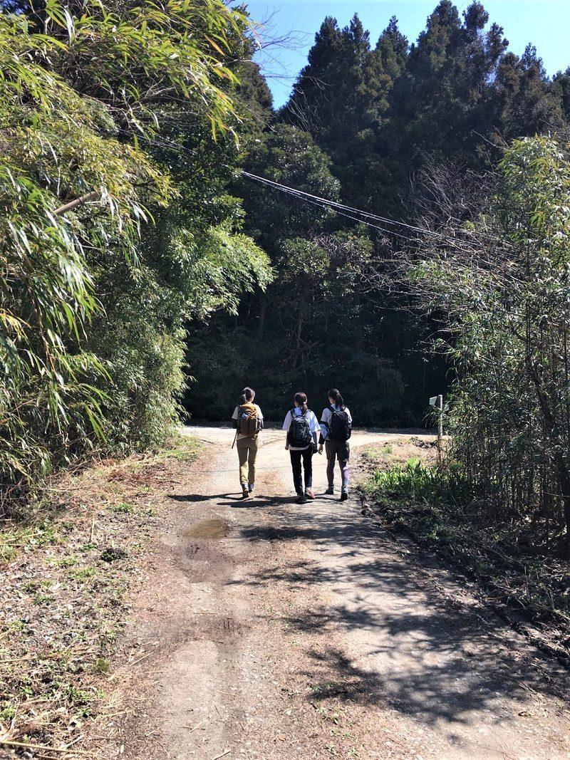 二条岳 登山道