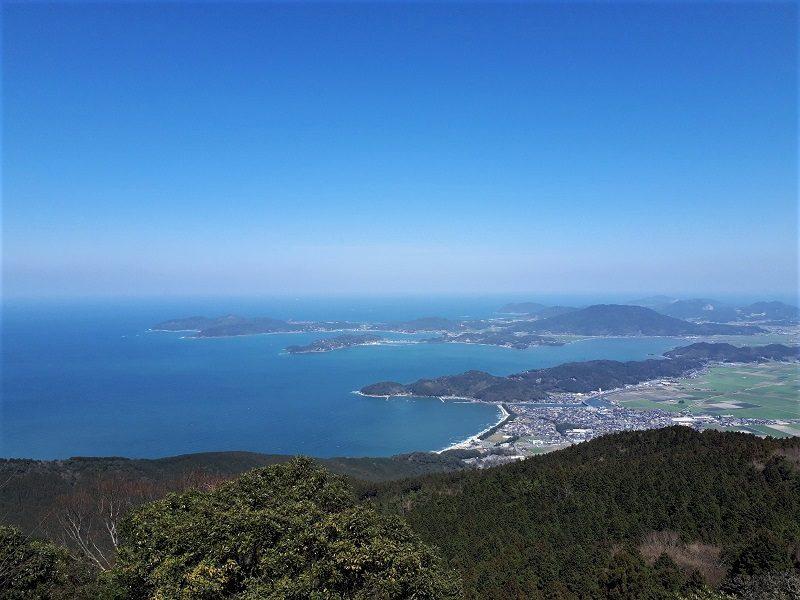二条岳からの眺望