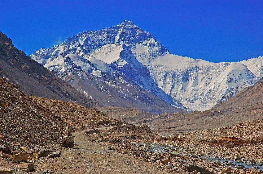 エベレスト チベット側