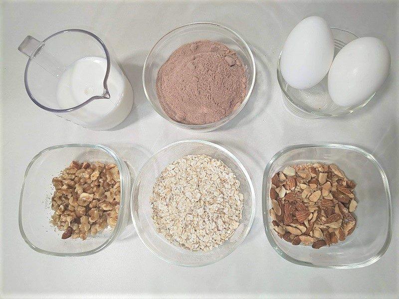 プロテインパウンドケーキ材料