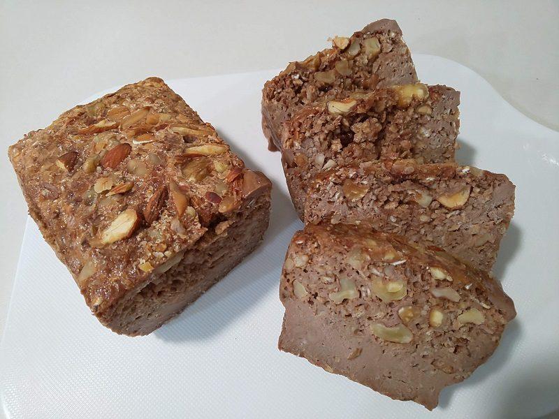手作り行動食のパウンドケーキ