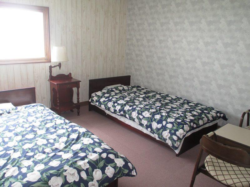 白馬山荘 2名ツイン客室一例