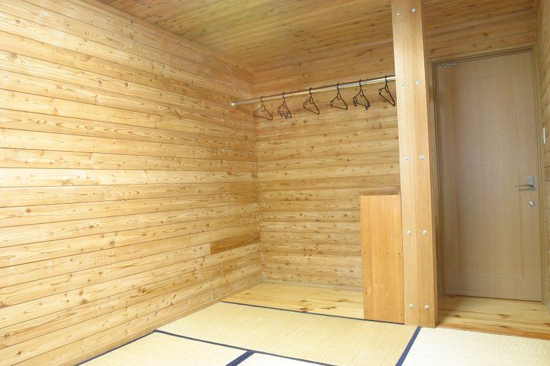 白馬岳頂上宿舎 個室一例