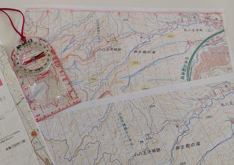 地図読み講習