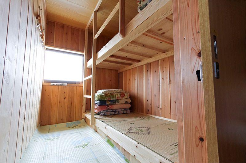 三伏峠小屋 個室一例