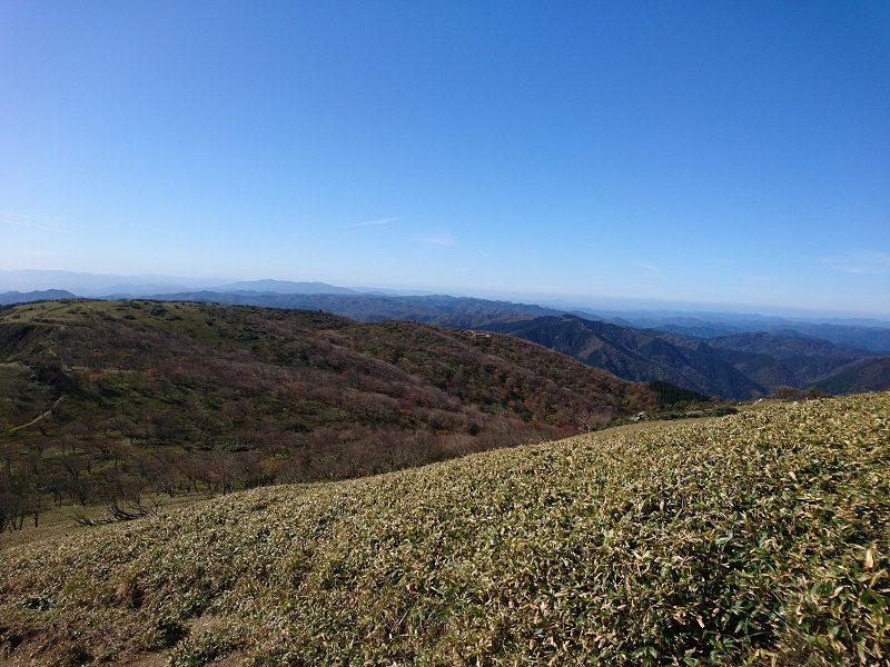 蓬莱山からの景色