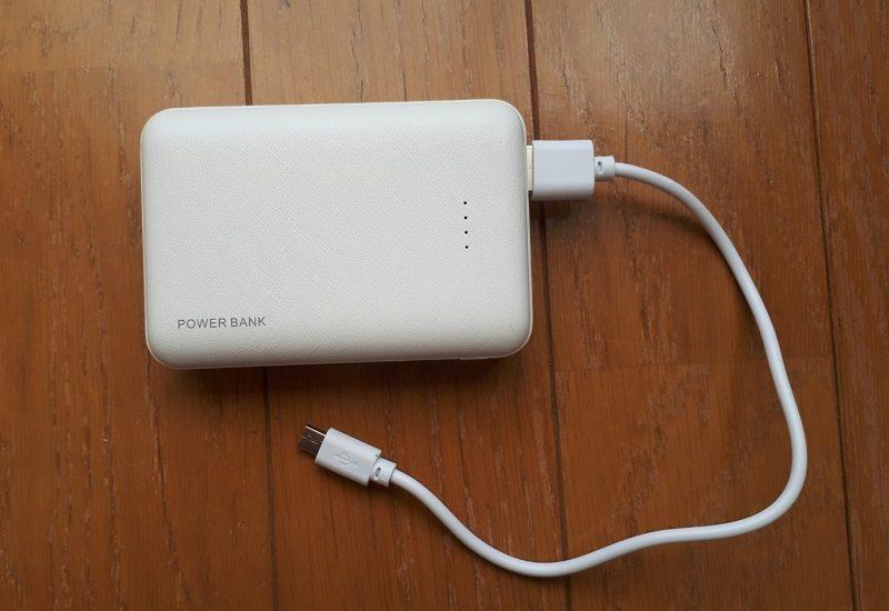 防災セット モバイルバッテリー
