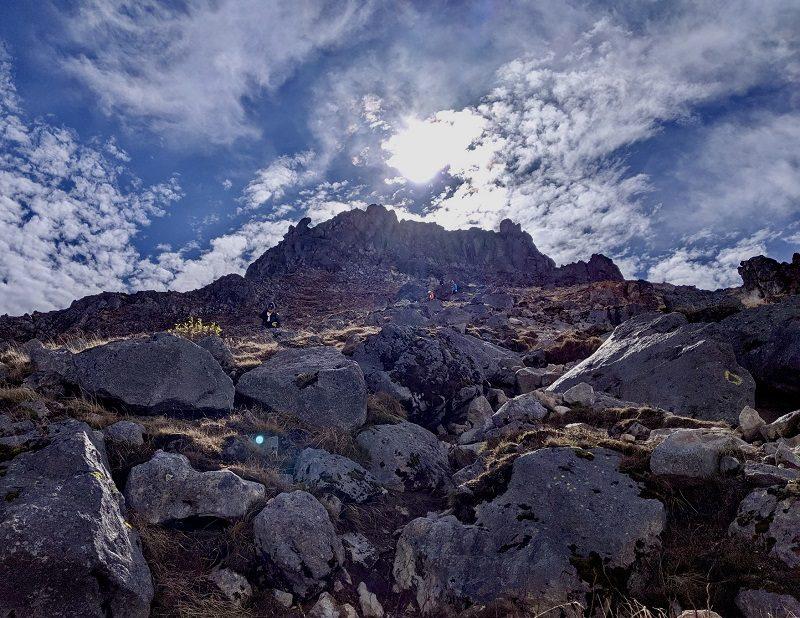 岐阜県の焼岳