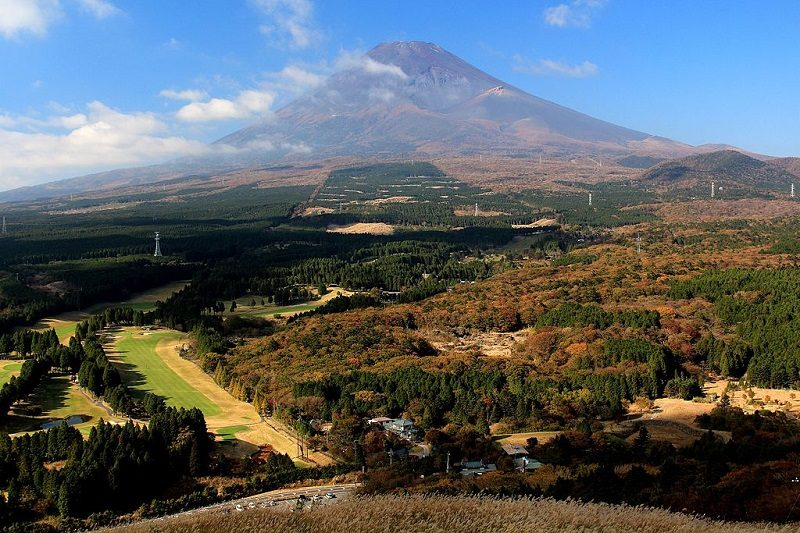 越前岳 展望台からの眺め